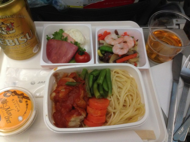 JALの機内食