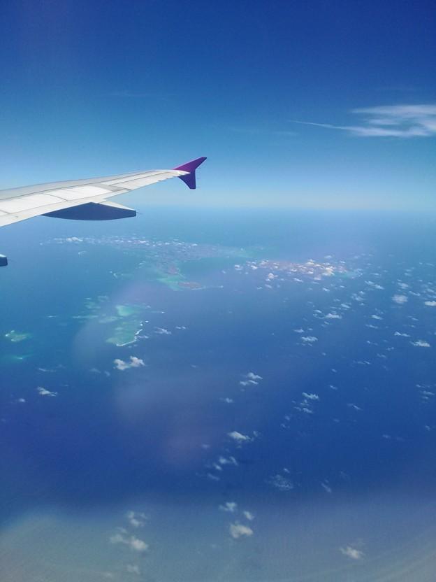 空から島を見てみよう