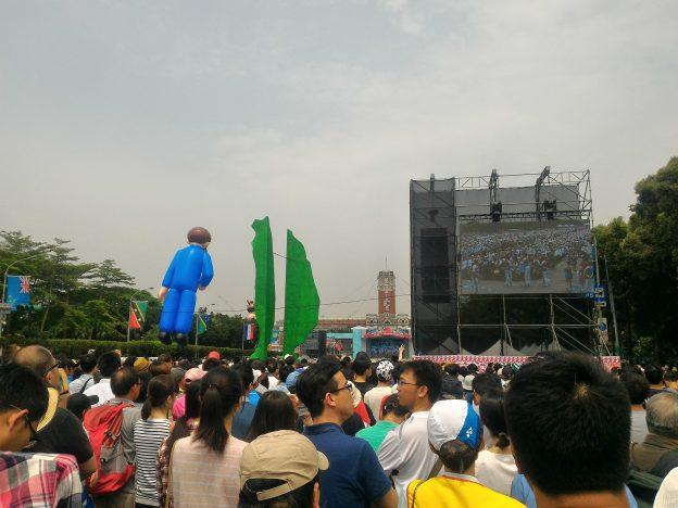 総統府前広場